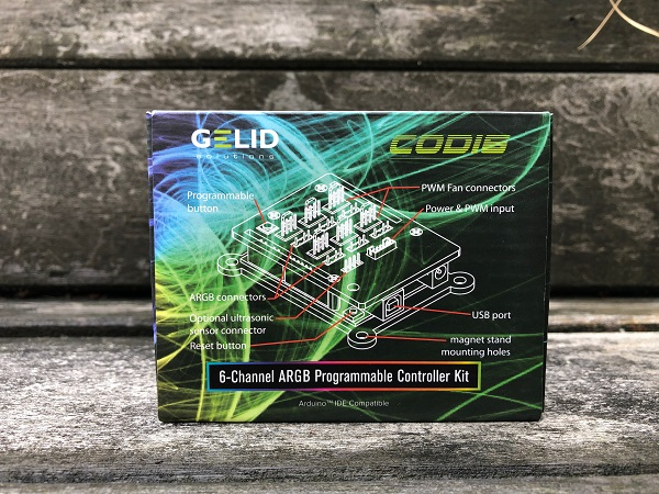 Beknopte review: Gelid Solutions – CODI6 ARGB Controller Kit