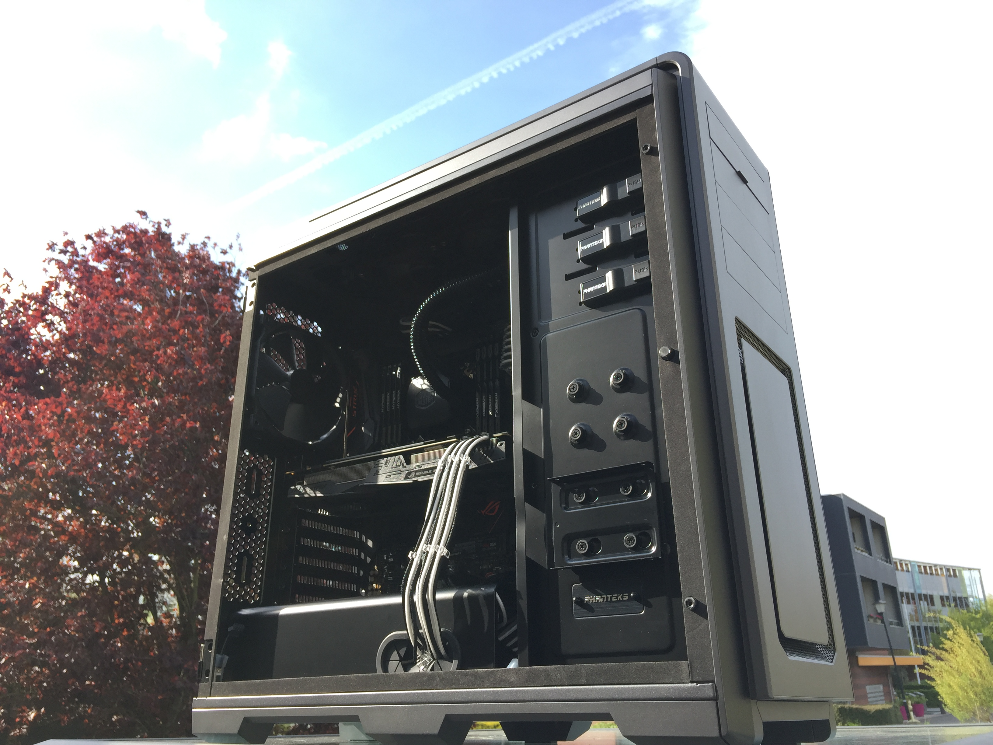 Productervaring phanteks enthoo luxe window anthracite pclinde for Verwijderbaar glas