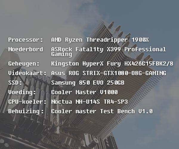 snelheid systeem testen