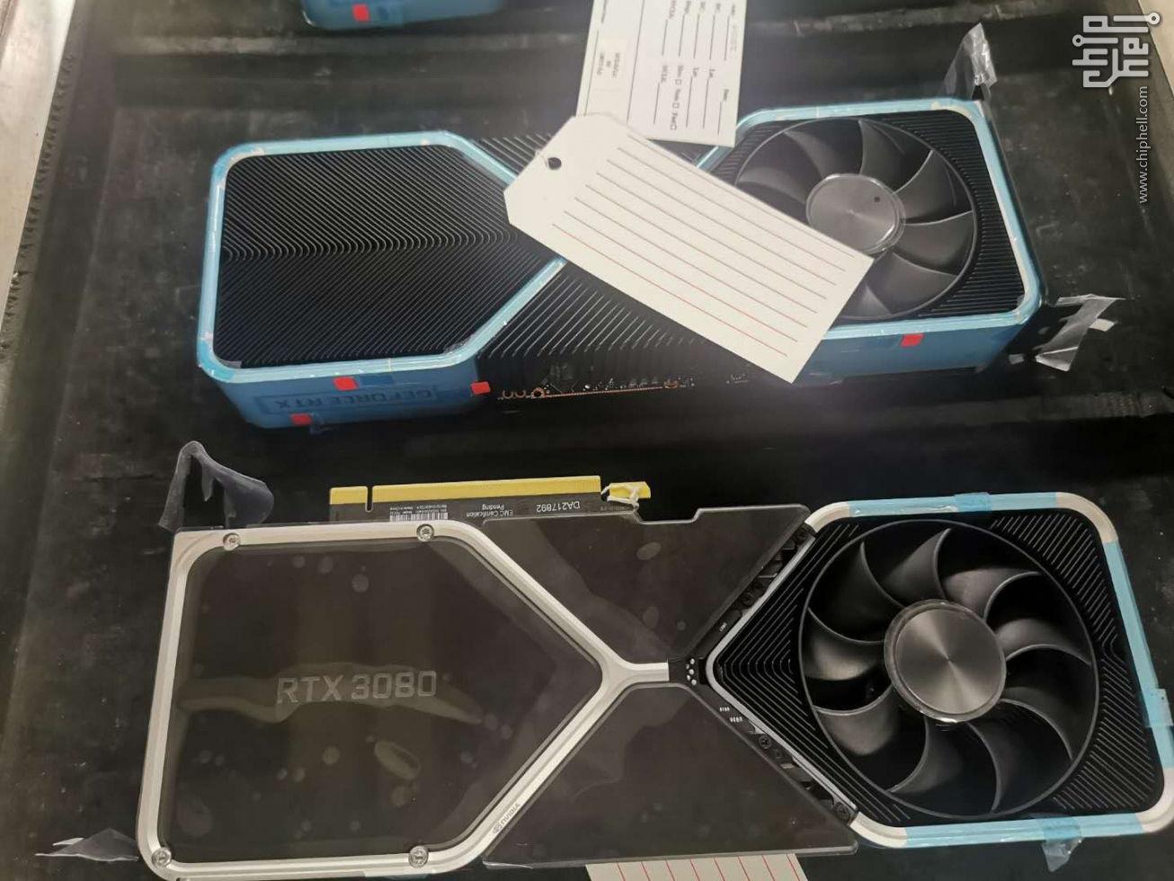 Nvidia RTX 3080 foto (Chiphell)