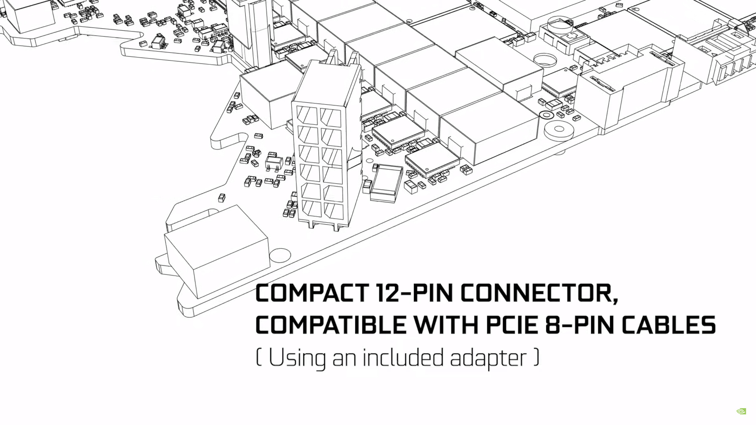 RTX 3000 12 pins voeding connector