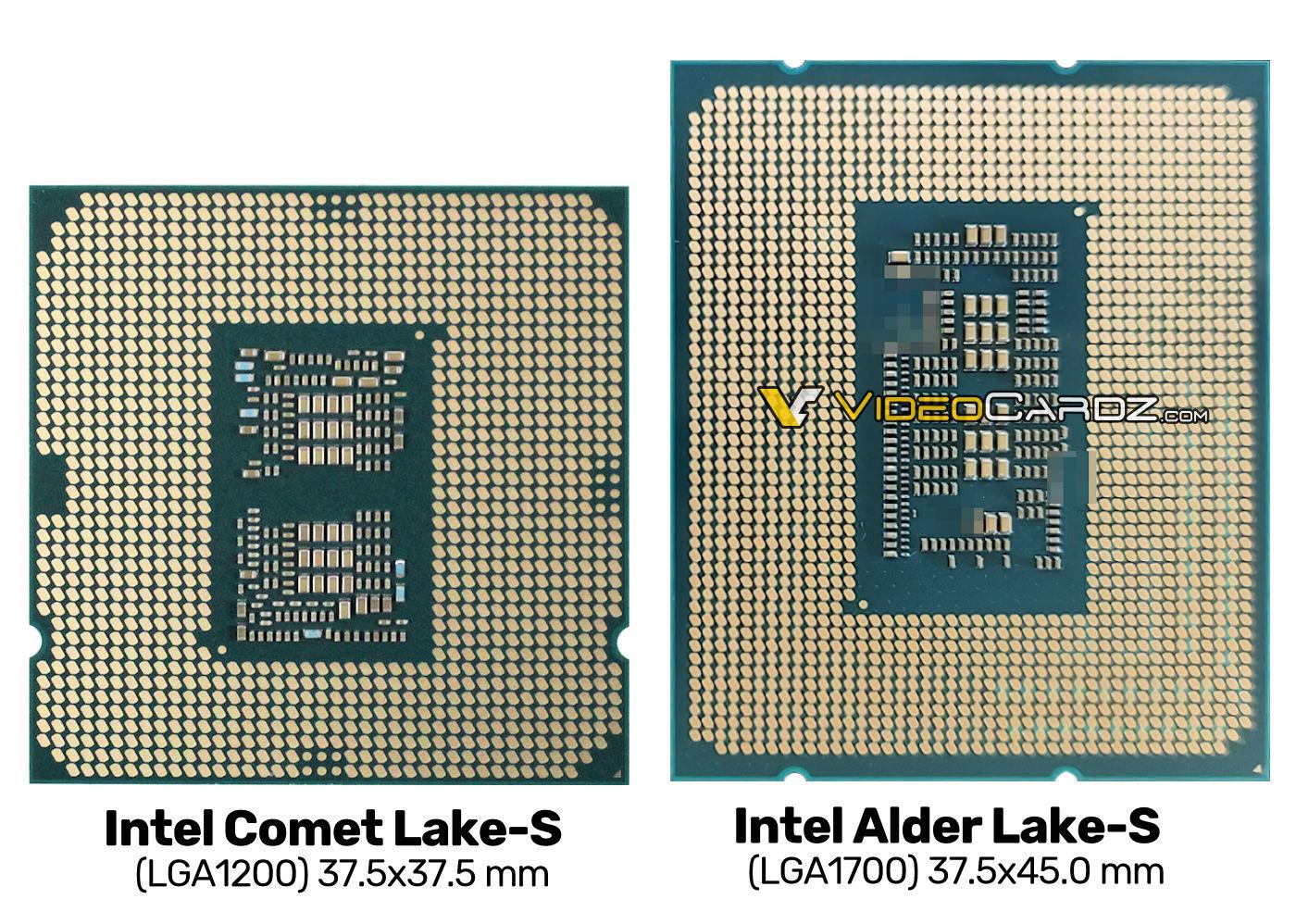 Intel Alder Lake-S foto